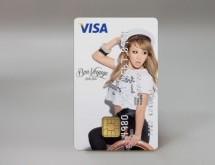 倖田來未とコラボレーションした「KODA KUMI VISAカード」が誕生