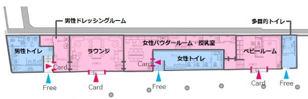 渋谷ちかみちラウンジの構造