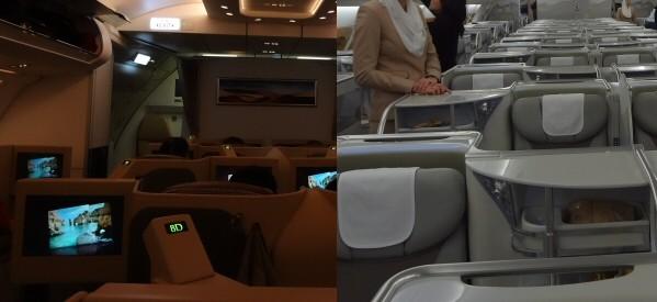 ビジネスクラスこそ、座席にこだわりたい! 同じビジネスクラスでも大きくシートが異なります