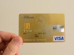 ヒルトンHオーナーズVISAカード(ゴールドカード)