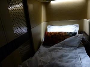 ファーストクラスのベッド