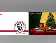 ケンタッキーフライドチキン、プリペイドカード「KFC CARD」を発行開始