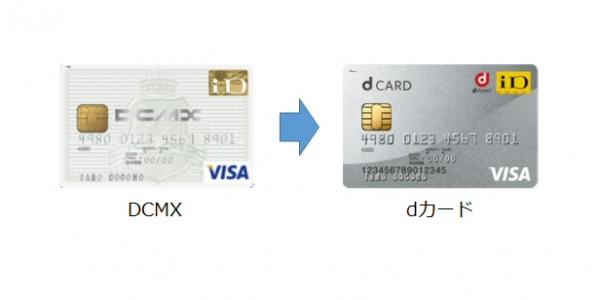 DCMXからdカードへの変更は名称・券面の変更だけではない DCMXとd ...