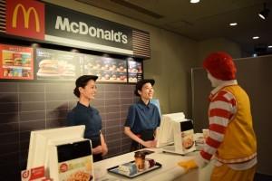 マクドナルドでもdポイントカードのサービスを開始