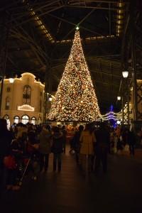 JCBマジカルはクリスマスツリーがある