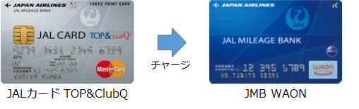 JALカードでJMB WAONにチャージ+JMB WAON決済でポイント