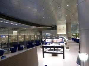 ドーハの「ハマド国際空港」のカタール航空VIPラウンジ