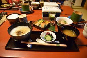 祇園畑中の朝食