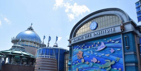 東京ディズニーシーにオープンした「ニモ&フレンズ・シーライダー」内にあるJCBラウンジを利用してきた