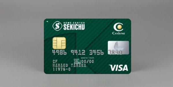 セディナ、セキチューと提携したクレジットカード「セキチューVisaカード」を発行