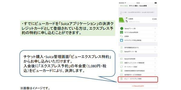 Apple PayのSuicaでエクスプレス予約の利用が可能に