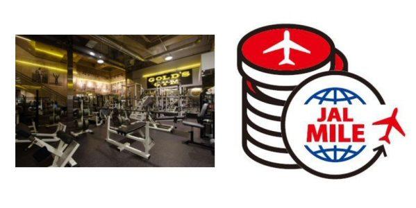 JAL、マイルでゴールドジムの施設を利用できる特典を追加