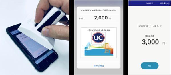 UCカード、地域通貨「UC台場コイン」の実証実験を開始