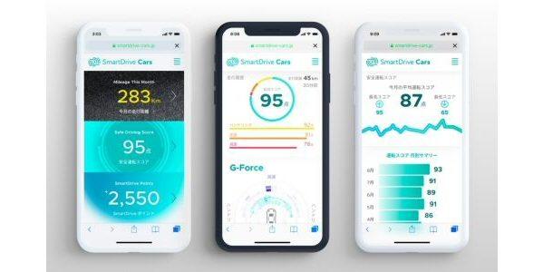 スマートドライブ、安全運転で独自のポイントが貯まるサービス「SmartDrive Cards」の申込受付を開始