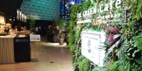 期間限定の「THE GREEN Cafe American Express × 数寄屋橋茶房」に行ってきた