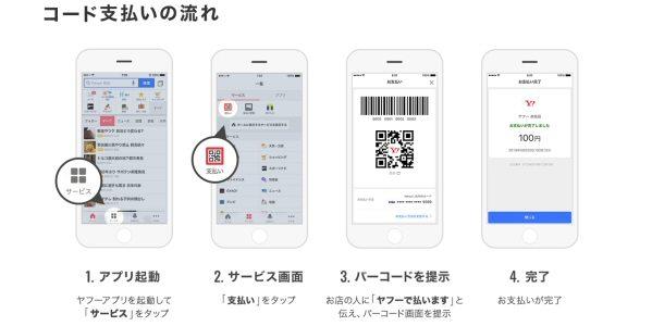 Yahoo! JAPAN、QRコードやバーコードを使ったスマホ決済を開始