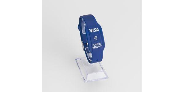 三井住友カード、Visaのタッチ決済に対応したリストバンド型プリペイドカードを発行
