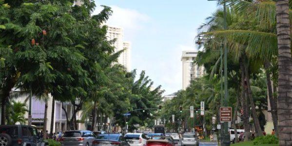 個人旅行でハワイのオアフ島で空港からホテルまで移動するには楽天トラベルのシャトルバスが便利!