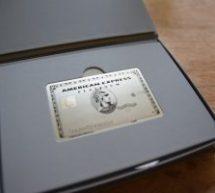 アメックスのメタル製プラチナ・カードが到着! 固定費の引落カードを変更