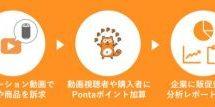Pontaポイントで動画視聴による販促効果分析サービスを開始