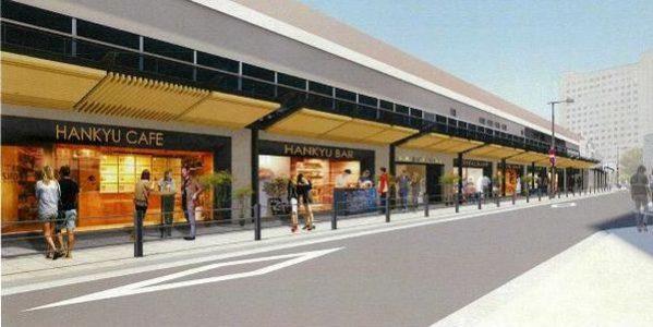 阪急梅田駅の高架下にできる飲食街「茶屋町あるこ」でSポイントサービスが開始
