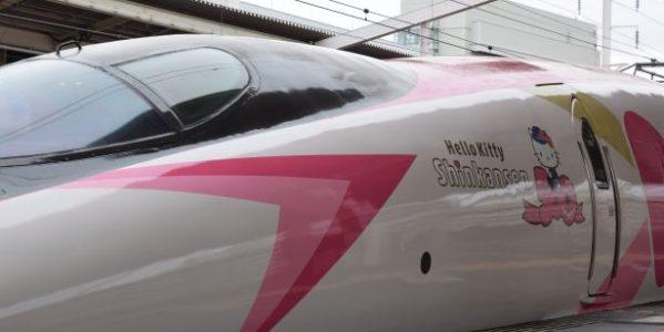 コンシェルジュデスクでハローキティ新幹線を調べてもらった ハローキティ新幹線は2号車自由席がおすすめ