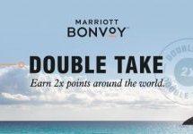 Marriott Bonvoyが期間中のポイントが2倍になるキャンペーンを開始