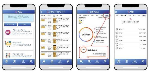 NEGTEC、暗号資産ウォレットアプリ「SKB Wallet」で「SKB Point」のサービスを開始