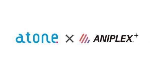 atone、ANIPLEX直営セレクトショップ「ANIPLEX+」に導入開始