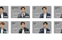 EXOデザインのプリペイドカード「SMTOWN VISA PREPAID」を発行