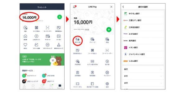 LINE Pay、肥後銀行の口座連携を開始 初めて銀行口座からチャージで500円分の残高プレゼントキャンペーンも