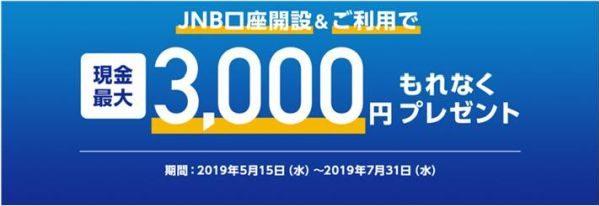 ジャパンネット銀行、PayPay加盟店向けに口座開設キャンペーンを実施