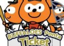 Pontaポイントとオリジナルグッズがもらえる限定チケット「バッファローズポンタ∞チケット2019」が発売