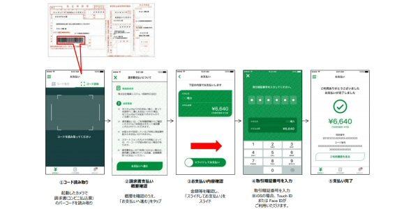 ゆうちょPay、請求書(コンビニ払込票)の支払い機能を追加