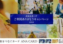 ANAカード、35万円以上利用すると3,500マイルを獲得できるキャンペーンを実施