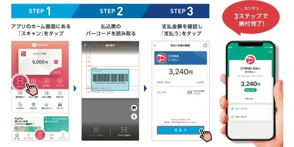 PayPay、公共料金の請求書からバーコードを読み取って支払う「PayPay請求書払い」を提供開始