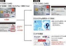 TS CUBIC CARD、JAF会員一体型カードとJAF会員証/Visa QUICPay一体型カードの一体型サービスを終了