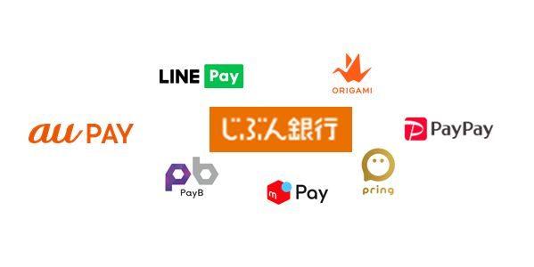 じぶん銀行、pringやPayPayなど7つのアプリ・サービスとの連携を開始