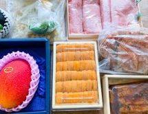 ラグジュアリーカードと「割烹TAJIMA」が提携した特別セットを買ってみた! ウニやカニ、マンゴーなどの高級食材が大量に!