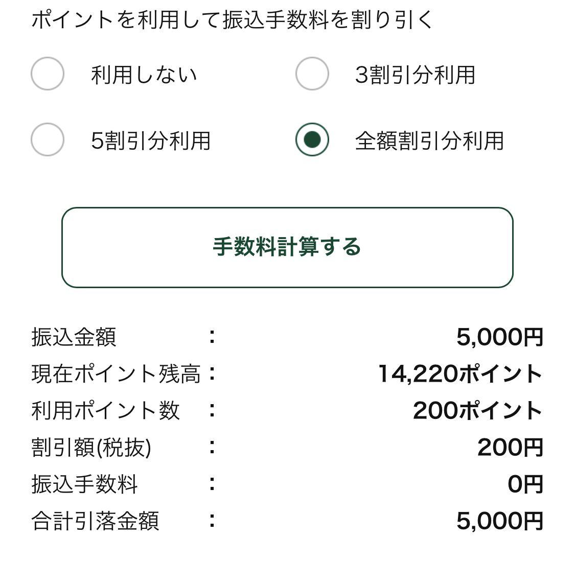 振込 手数料 三井 住友 銀行