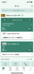 VpassアプリではWEB明細の利用中かは簡単に確認できない
