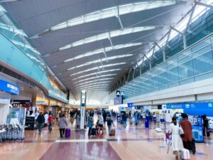 2020年11月の羽田空港