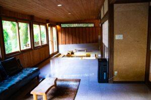 忘れの里 雅叙苑の「椿」の部屋にあるお風呂