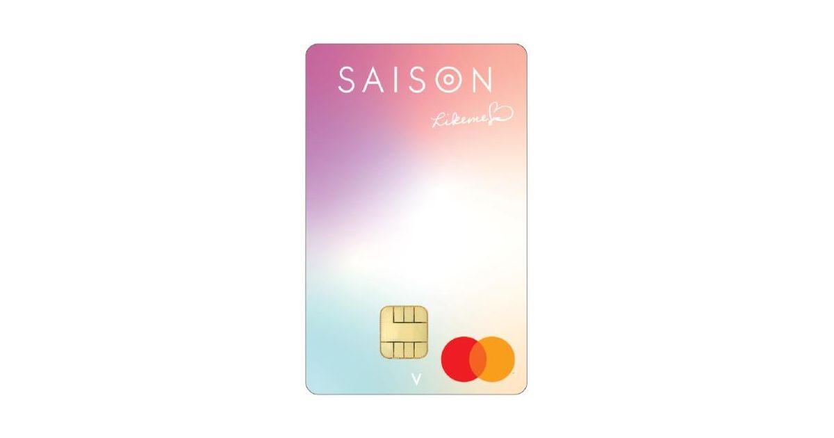 クレディセゾン、年会費無料で1%キャッシュバックの「Lieme♡by saison card(ライクミーバイセゾンカード)」を発行