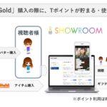 仮想ライブ空間「SHOWROOM」とTポイントが連携 SHOWROOMでTポイントを使ったギフティングが可能に