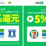 Visa LINE Payプリペイドカードをコンビニ3社でiD決済すると5%のLINEポイントを獲得できるキャンペーン実施