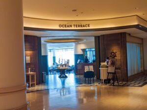 ヨコハマ グランド インターコンチネンタル ホテルのオーシャンテラス
