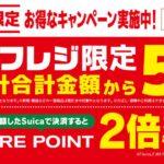 東京駅のNewDaysでセルフレジを利用すると5%OFF+JRE POINT 2倍キャンペーンを実施