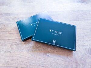 N-NOSE PREMIUMの箱が到着
