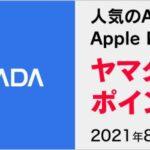 ヤマダウェブコムでApple Payで購入するとヤマダポイントが10%還元となるキャンペーンを実施